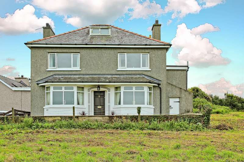 4 Bedrooms Detached House for sale in Penrhyd, Amlwch, Anglesey, LL68
