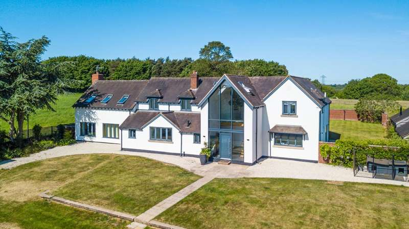 5 Bedrooms Detached House for sale in Bushwood Lane, Lowsonford