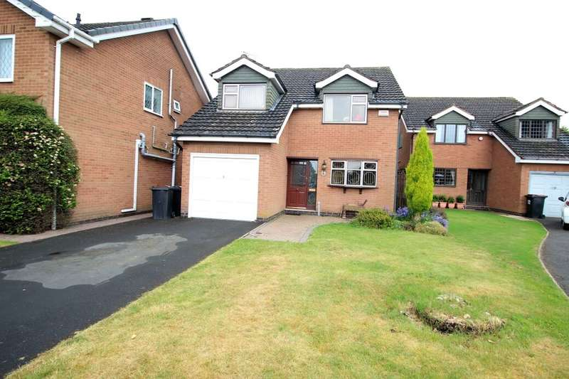 4 Bedrooms Detached House for sale in The Limes, Bedworth, CV12