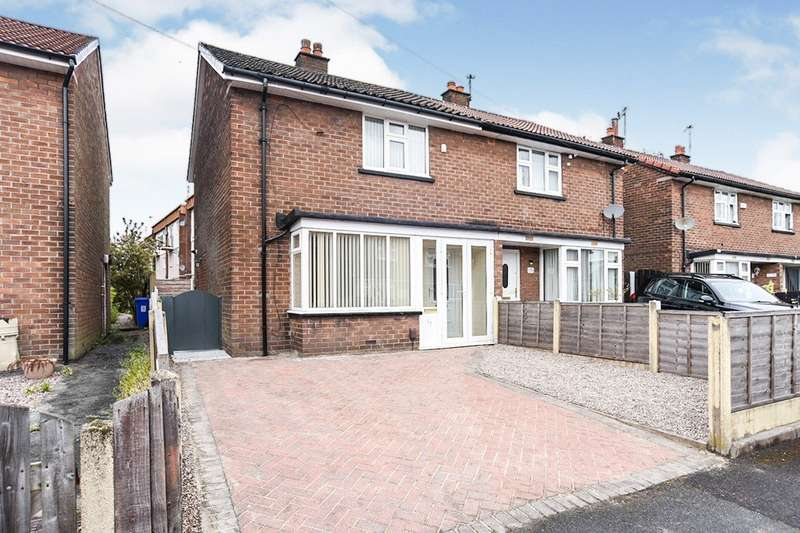 2 Bedrooms Semi Detached House for sale in Yew Street, Audenshaw, Manchester, Greater Manchester, M34