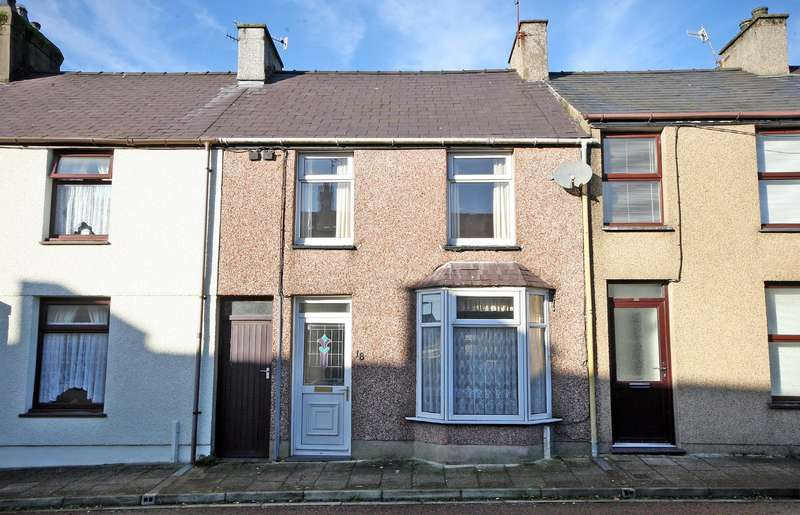 3 Bedrooms Terraced House for sale in Baptist Street, Penygroes, Caernarfon, LL54