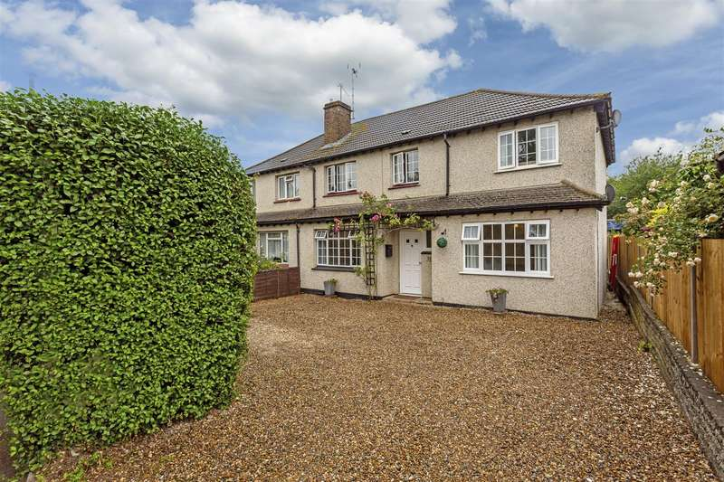 4 Bedrooms Semi Detached House for sale in Oaks Way, Carshalton