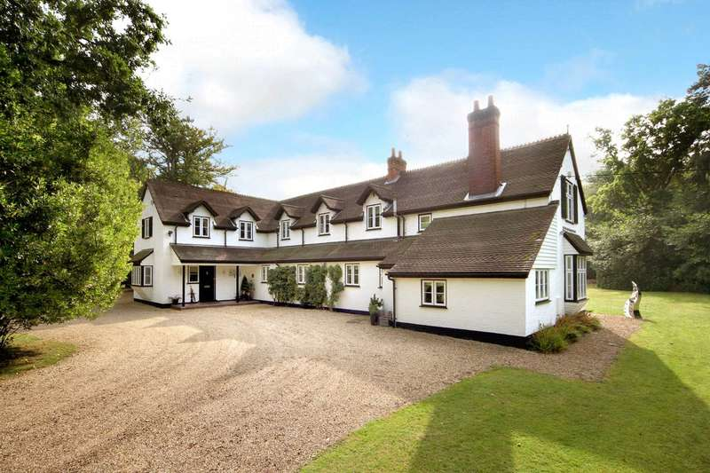 5 Bedrooms Detached House for sale in London Road, Windlesham, Surrey, GU20
