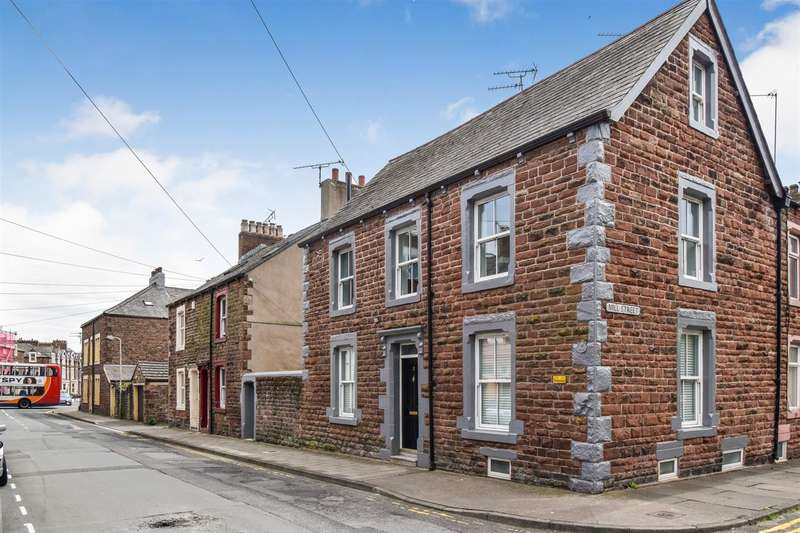 4 Bedrooms Town House for sale in Station Street, Maryport