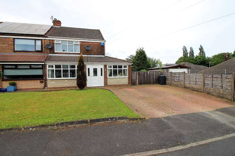 3 Bedrooms Semi Detached House for sale in Larch Close, Failsworth