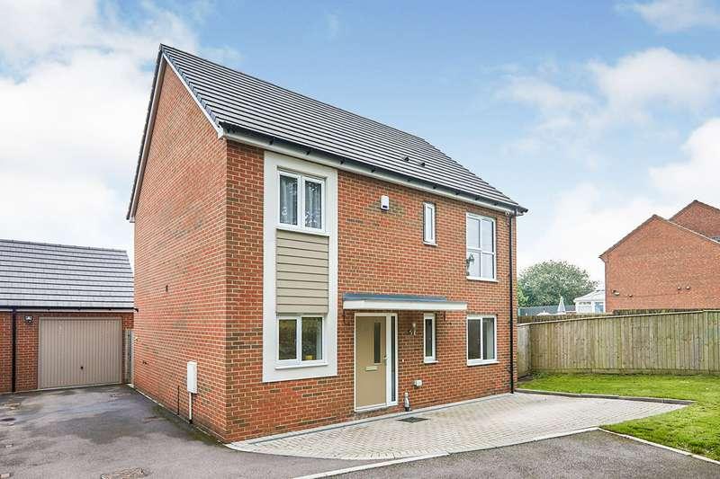 4 Bedrooms Detached House for sale in Burton Road, Castle Gresley, Swadlincote, Derbyshire, DE11
