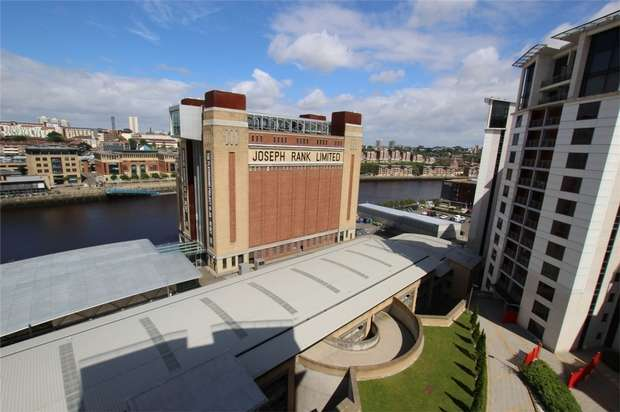 2 Bedrooms Flat for rent in Baltic Quay, Mill Road, NEWCASTLE, Tyne and Wear