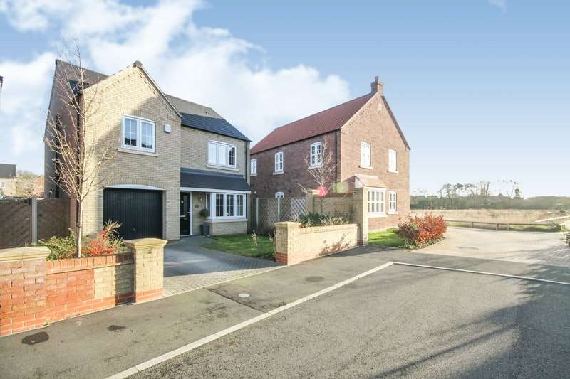 4 Bedrooms Detached House for sale in Rutland Avenue, Lincoln, Lincolnshire, LN5