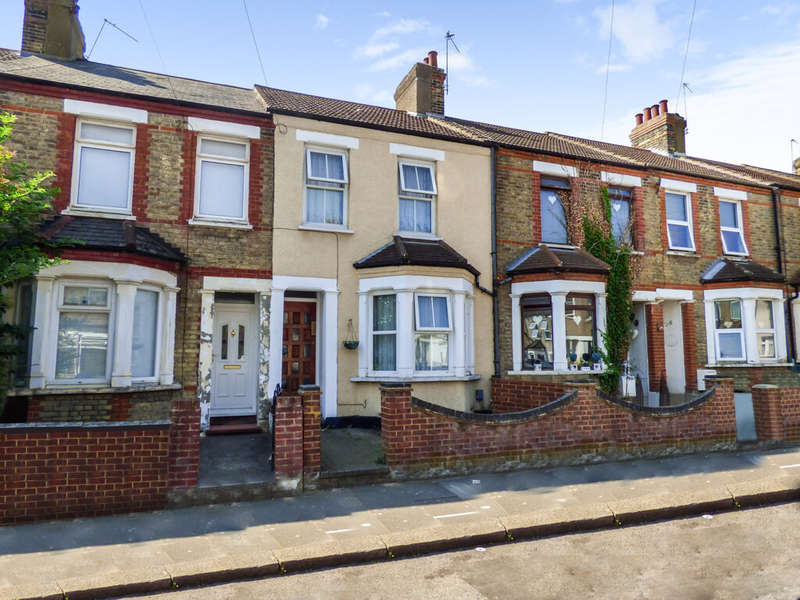 3 Bedrooms Terraced House for sale in Hengist Road, London, DA8