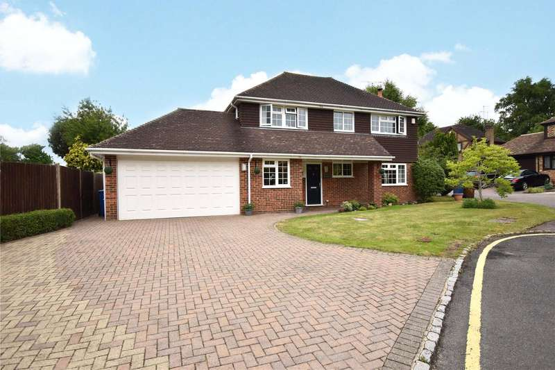 4 Bedrooms Detached House for sale in Picket Post Close, Bracknell, Berkshire, RG12