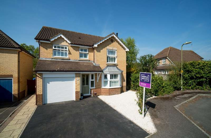4 Bedrooms Detached House for sale in Alder Close, Colden Common