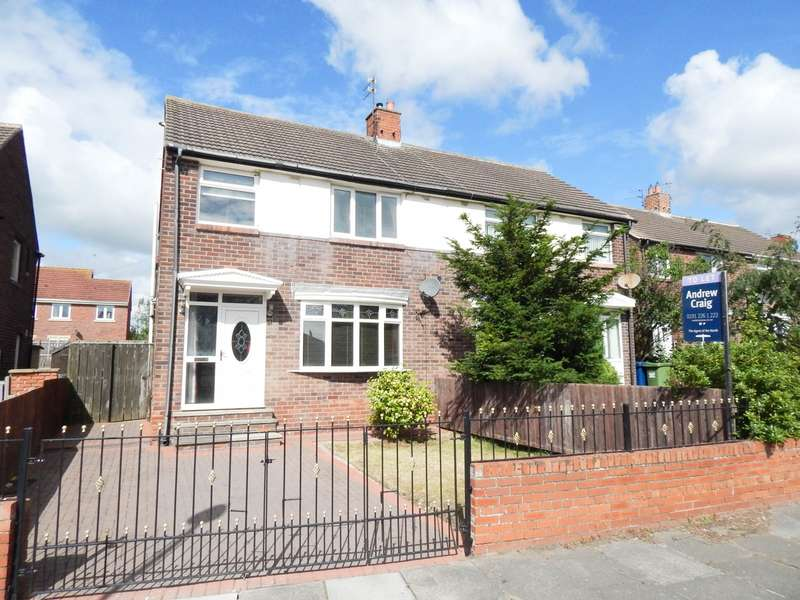 3 Bedrooms Semi Detached House for sale in Reay Crescent, Boldon