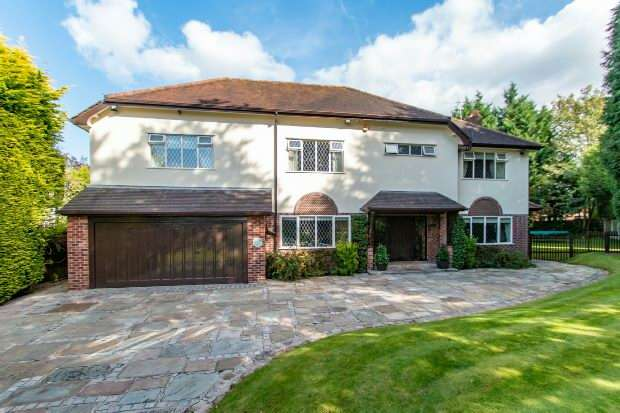 5 Bedrooms Detached House for sale in Parkhill Road, Hale