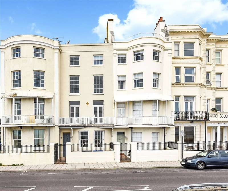 4 Bedrooms Terraced House for sale in Marine Parade, Worthing, West Sussex, BN11