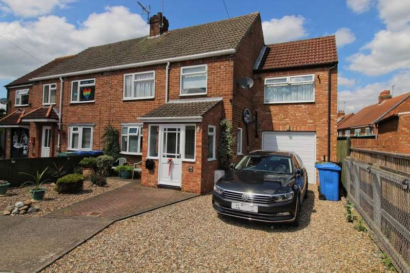 4 Bedrooms Semi Detached House for sale in St. Lawrence Square, Sigglesthorne