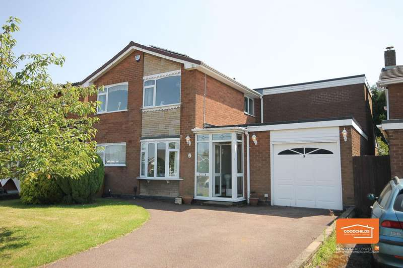 5 Bedrooms Detached House for sale in Stencills Drive, Walsall