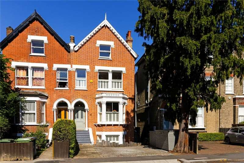 4 Bedrooms Semi Detached House for sale in Underhill Road, London, SE22