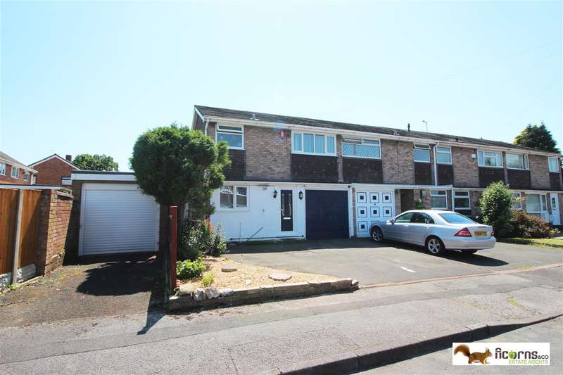 3 Bedrooms Semi Detached House for sale in Flinkford Close, Walsall