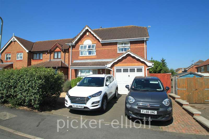 3 Bedrooms Detached House for sale in Landseer Drive, Hinckley