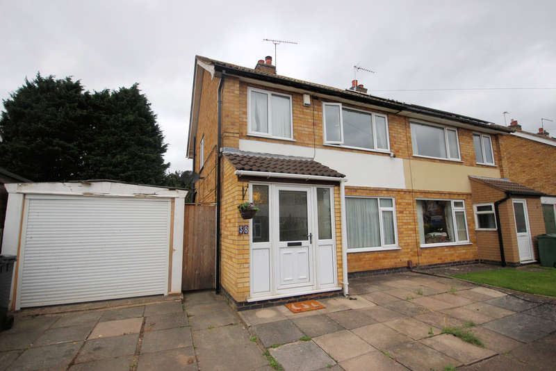 3 Bedrooms Semi Detached House for sale in Rockhill Drive, Mountsorrel