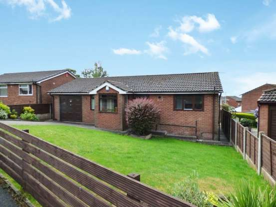 2 Bedrooms Detached Bungalow for sale in Rakewood Drive, Oldham, Lancashire, OL4 2NP