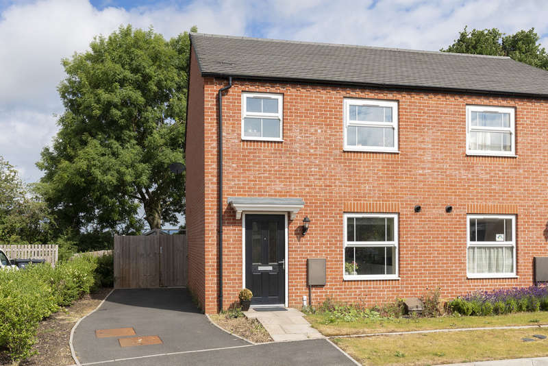 3 Bedrooms Semi Detached House for sale in Willow Field Drive, Lower Broadheath, Worcester WR2 6RT