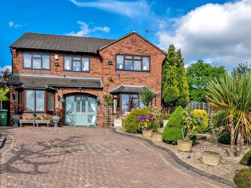 4 Bedrooms Detached House for sale in Heather Valley, Hednesford, Cannock Chase, WS12