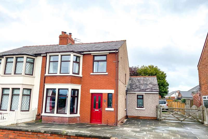 3 Bedrooms Semi Detached House for sale in Midgeland Road, Blackpool, FY4