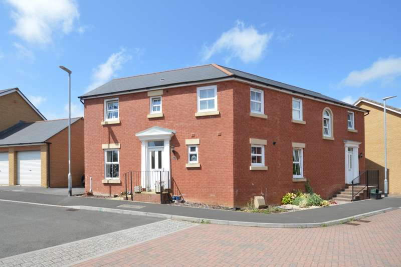 3 Bedrooms Semi Detached House for sale in Kingswood Road, Crewkerne, Somerset, TA18