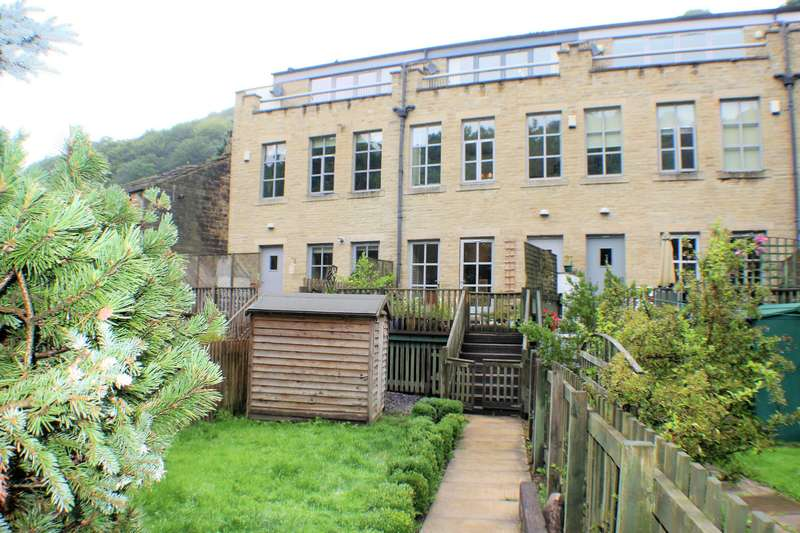 4 Bedrooms Mews House for sale in Mayroyd Mill, Mayroyd Lane, Hebden Bridge, HX7