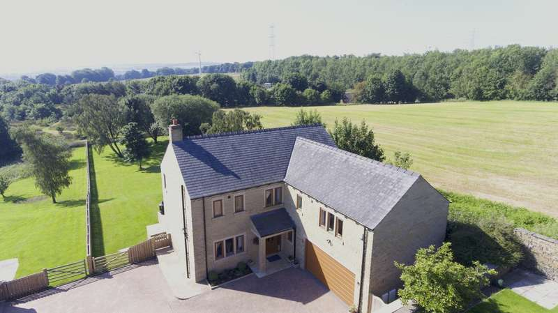 5 Bedrooms Detached House for sale in School Lane, Southowram, Halifax
