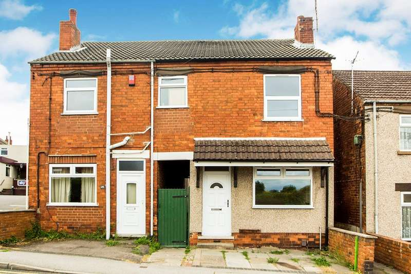 2 Bedrooms Semi Detached House for sale in Main Street, Awsworth, Nottingham, NG16
