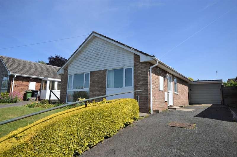 2 Bedrooms Detached Bungalow for sale in Danesfield Drive, Leominster