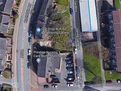 Land Commercial for sale in Rochdale Road, Manchester