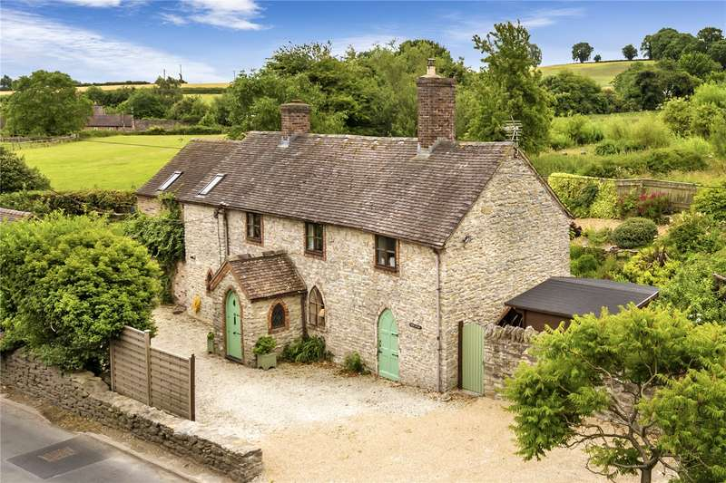 4 Bedrooms Detached House for sale in Pound Cottage, 10 Victoria Road, Much Wenlock, Shropshire, TF13