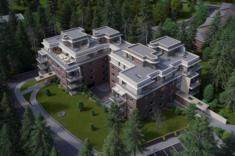3 Bedrooms Penthouse Flat for sale in High Firs, Radlett