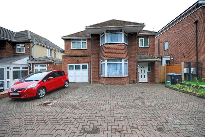 5 Bedrooms Detached House for sale in HARROW ROAD, WEMBLEY, MIDDLESEX, HA0 2ET