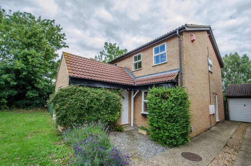 4 Bedrooms Detached House for sale in Armour Rise, Hitchin, Hertfordshire, SG4