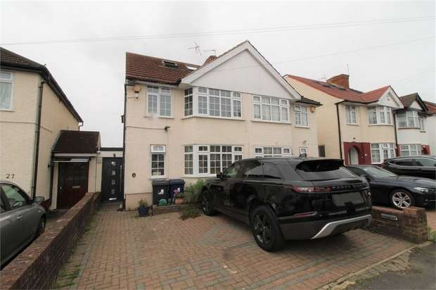 4 Bedrooms Semi Detached House for sale in Clauson Avenue, Northolt