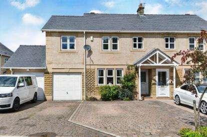4 Bedrooms Semi Detached House for sale in Carr Wood Gardens, Galgate, Lancashire, LA2