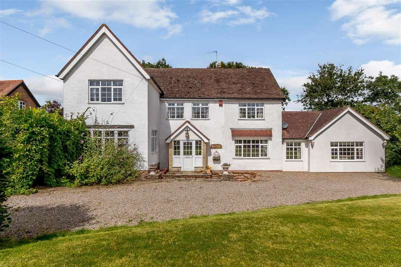 4 Bedrooms Detached House for sale in Guarlford Road, Guarlford, Malvern, Worcestershire