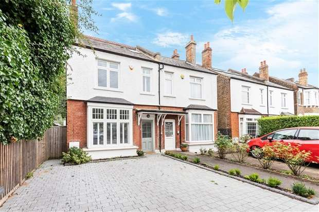 4 Bedrooms Semi Detached House for sale in Ditton Road, Surbiton
