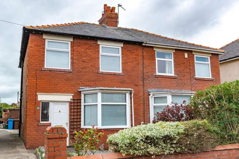 3 Bedrooms Semi Detached House for sale in Forshaw Avenue, Lytham St Annes, FY8