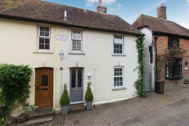 3 Bedrooms Terraced House for sale in Braeside Cottages, Cullings Hill, Elham