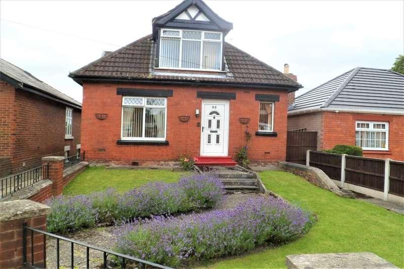 4 Bedrooms Detached Bungalow for sale in Wrexham Road, Rhostyllen, Wrexham, LL14