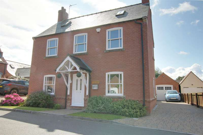 4 Bedrooms Detached House for sale in St. Margarets Close, Huttoft, Alford