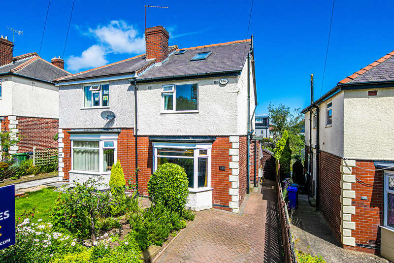3 Bedrooms Semi Detached House for sale in Forres Road, Crookes