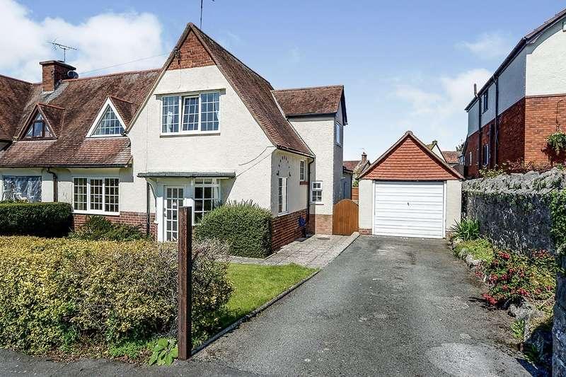 3 Bedrooms Semi Detached House for sale in Linden Walk, Prestatyn, Denbighshire, LL19