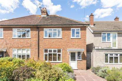 3 Bedrooms Semi Detached House for sale in Lakes Road, Keston
