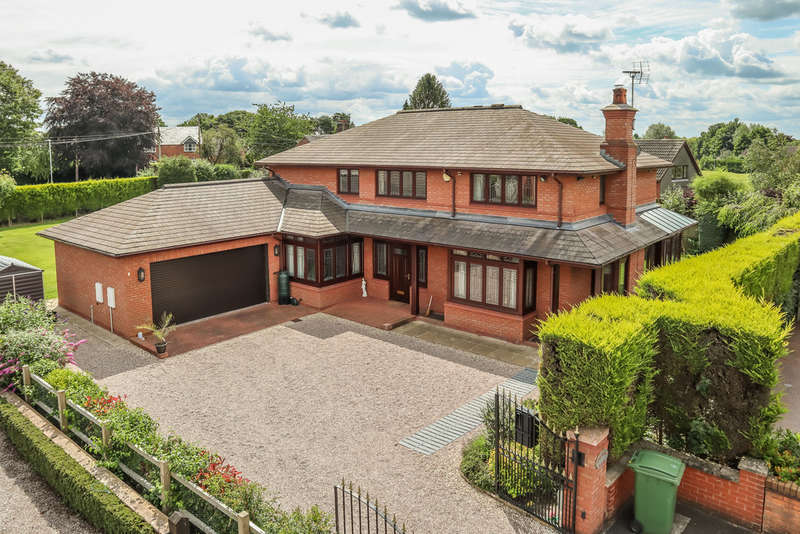 5 Bedrooms Detached House for sale in Highlows Lane, Yarnfield